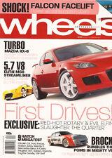 Wheels Sep 05 RX8 turbo Elfin V8 WRX Sti CLS500 XR8 Bowe C4 Focus Impreza Golf