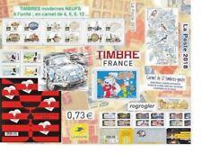 Timbres NEUF choix carnet bloc lettre verte 2018 oiseaux ESA Mickey France