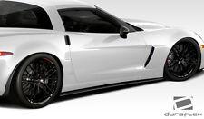 2005-2013 Chevrolet Corvette C6 Duraflex GT500 Side Skirt Splitters-2PC Body Kit
