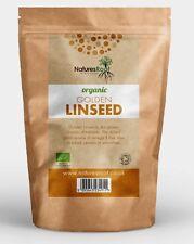 Natures Racine Organique Golden linseeds - 60 G | 125 G | 250 G | 500 G | 1 kg