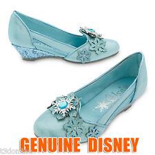 Authentic Disney Frozen Princess Elsa Costume Shoes KIDS GIRLS SHOE NEW