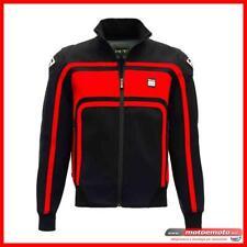Giacca Moto Blauer Sweatshirt Easy Rider Nero Rosso Softshell Protezioni Fashion