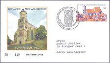 BRD 2006: Schwäbisch Hall! FDC Nr 2522 mit Berliner Sonderstempel! Gelaufen! 1A