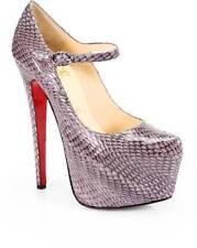 Christian Louboutin LADY DAF 160 Cobra Platform Mary Jane Pump Heels Shoes $1495