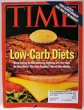 Vintage TIME Magazine Nov November 1 1999 11/1/99 V154#18 RARE Low-Carb/Gore