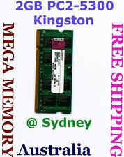 KINGSTON 2GB PC2-5300 667MHz LAPTOP Memory QUALITY Ram