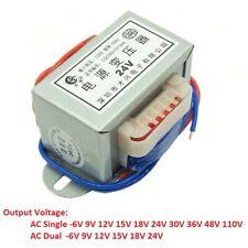 EI66 50W Power Transformer 220V/380V TO 6V 9V 36V -110V AC Single/Dual DB-50VA