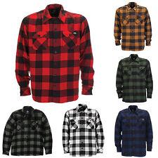 Dickies - Sacramento Camisa De Cuadros Holzfeller De Cuadros Camisas Hombres
