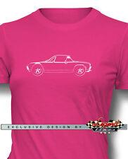 Porsche 914 Targa T-Shirt for Women - Multiple Colors Sizes - German Classic Car