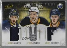 2013 Panini Prime Trios /100 Mikhail Grigorenko Rasmus Ristolainen #T-BUF Rookie
