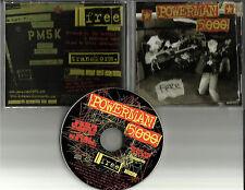 POWERMAN 5000 Free 1TRK PROMO RADIO DJ CD Single USA 2003 Five thousand MINT