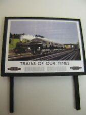 BR - Trains Of Our Times - Model Railway Billboard - N & OO Gauge
