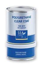 SEA-LINE Polyurethan Clear Coat 2-Komponenten Klarlack 2K PUR Bootslack Holzlack