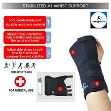 Body-Plus Wrist Support Splint Brace for Sprain Injury Pain Fracture Left Right