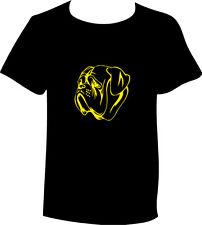 T-Shirt Bordeauxdogge Hunderasse Kopf Motiv