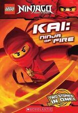 LEGO Ninjago Chapter Book: Kai, Ninja of Fire by Farshtey, Greg, Scholastic, Goo