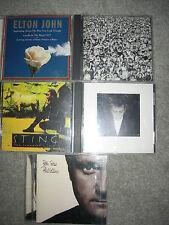 CD Lot of 5 Male Pop/Rock artists!