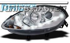 Fari Anteriori Dayline DRL LED Luci Diurne Fiat Bravo (198) 2007 -> Cromati CE87