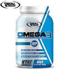 OMEGA 3 60/120 Caps. Fish Oil DHA EPA Heart Eyes Health Bone Support Fresh