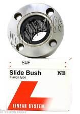 NB SMF8W 8mm Slide Bush Ball Bushings Miniature Linear Motion Bearings 20155