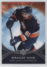 2007-08 Upper Deck Ovation #167 Miroslav Satan New York Islanders Hockey Card