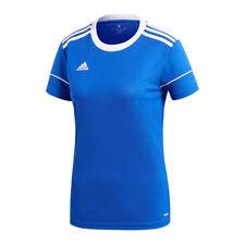 Adidas Squadra 17 Camiseta Manga Corta Damas Azul Blanco