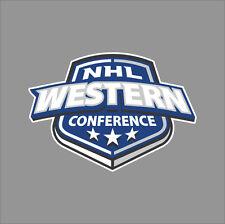 Western Conference NHL Logo Vinyl Decal Sticker Car Window Wall Cornhole