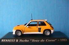RENAULT 5 TURBO TOUR DE CORSE 1/43 UNIVERSAL HOBBIES