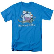 Regular Show Surrounding Benson Licensed Adult T Shirt