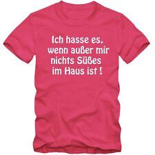 Kinder unisex T-Shirt  Ich hasse es Süßes Spaß Sprüche Fun Tee  NEU