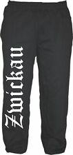 Zwickau pantalones deportivos-m hasta XXL-negro/blanco-ultras jogger pantalones Sweatpants