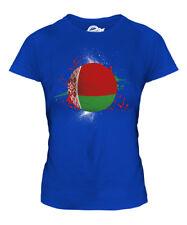Bielorrusia fútbol Señoras Camiseta Camiseta Top Copa Mundial de regalo Sport
