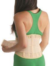 Fascia per la schiena supporto Bendaggio CORSETTO CROCE CINTURA 3028