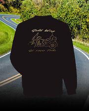 Honda Goldwing 1500 TRIKE SWEATSHIRT Graphic Design...Black and Gold
