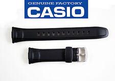 Casio Watch Band STRAP Black Rubber WVA-430J WVA-430U WVA-470J WVQ-400E WVA-470E