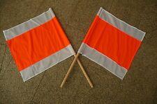 Warnflagge Fahne 50x 50cm rot/weiß Warnfahne Signalflagge NEU