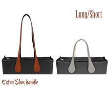 1 pair Long short Obag Extra Slim Teardrop Leather Handle for O bag