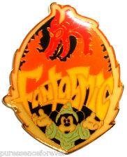 WDW D-MGM Studios: Fantasmic! Sorcerer Mickey Glow-in-the-Dark Logo Pin