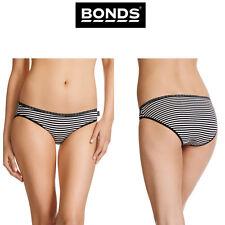Womens Bonds Hipster Bikini Undie Sexy Panties Knickers Stripe Brief W0106