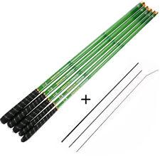 Fishing Rod Combo Carbon Fiber Telescopic Rod 3-7.2M Hand Pole Float Tips Stream