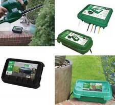 Dribox resistente alle intemperie Scatola di connessione elettrica per esterni IP55 giardino spine, prese