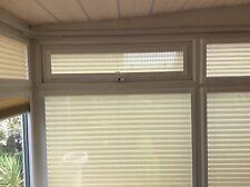 PERFECT FIT PLEATED BLINDS WINDOWS & DOORS-  AUBERGINE, CHOCOLATE, CREAM, MAUVE