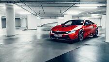 162048 2017 AC SCHNITZER ACS8 BMW I8 Wall Print Poster UK