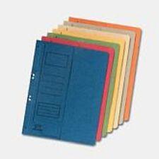 50 x Falken Ösenhefter A4 halber Deckel farbig , Einhängehefter 1/2 Deckel kaufm