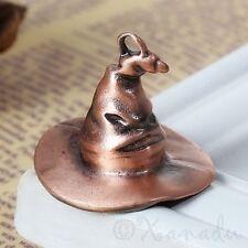 Harry Potter Sorting Hat Antiqued Copper Charm Pendants C6630 - 1, 2 Or 5PCs