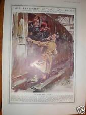 WW1 ARMéE Sketch Jacques et Jock GILBERT HOLIDAY 1914