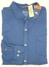 NWT Tommy Bahama Long Sleeve Blue Shirt Mens XLT 2XB 2XT 3XB 3XT LT Button Down