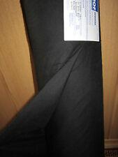 (3,20 € / Meter) 2 m Taschenfutter von Hof Breite: 85 cm Farbe: Schwarz   (TFS)