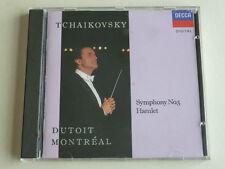 Tchaikovsky Symphony No 5 Hamlet West German PDO CD