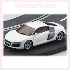 Kyosho DSlot43 Audi R8 Weiß (1:43 Slotcar auch für Carrera GO) D1431010102